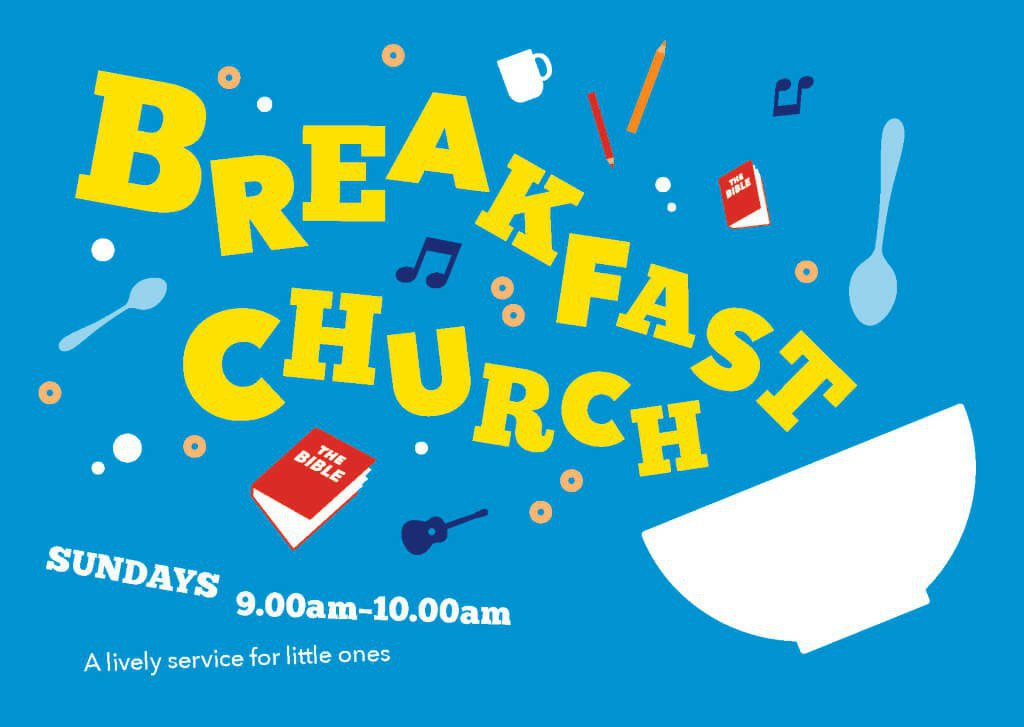 Breakfast Church flyer